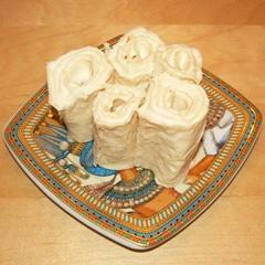 Пирог из армянского лаваша (с начинкой из картофеля и шампиньонов.